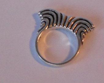 Sterling Silver Ring Size 7 Vintage