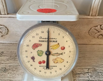 Vintage Kitchen Scale - American Family