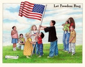 Let Freedom Ring 8x10 signed Print