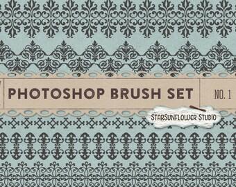 Photoshop Brushes Sweet Ornament Borders No. 1