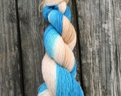If its the Beaches, Gradient Dyed Yarn, Hand Dyed Yarn, Fingering Weight, Merino