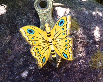 Antique Butterfly Letter Clip