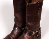 30% OFF RODEO DRIVE Women's Motorcycle Boots Size 5 .5 M