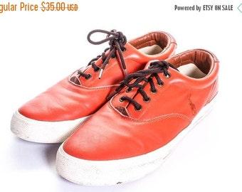 30% OFF POLO RALPH Lauren Men's Leather  Boat Shoe Size 11
