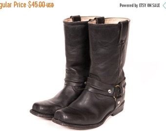 30% OFF Short Motorcycle Harness Boots Men's Size 7 .5