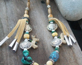 Horse Medicine necklace