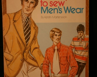 Vintage- Softcover- Kwik and Sew: It's Easy to Sew Men's Wear  ByKertin Martensson