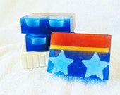 30% OFF! - Goat Milk & Glycerin Soap - Wonder Woman Inspired Original Fragrance Amazon D