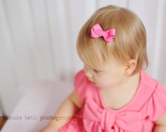 10 PACK Baby Hair Bows - girl hair bows - toddler hair bows - baby hair bows - little girl hairbows - 2 inch bows - small hair bows boutique