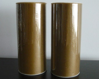 """Gold Shimmer Tulle Roll 6""""x 25 yard"""