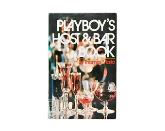 1971 Playboys Host And Bar Book 70s Playboy Retro Cocktail Parties Playboy Press Books Cocktails Guide Vintage Barware