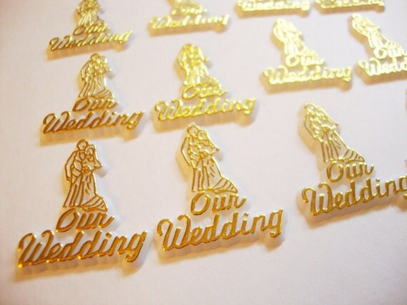 Crochet Wedding Cake Toppers Silhouette