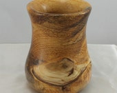 Wood Vase.   Hand turned Vase.  Home Décor.