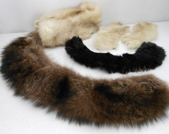 Real Fur Collection Wearable or Craft