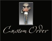 Custom Order for Donna- Oval-shaped Arracadas