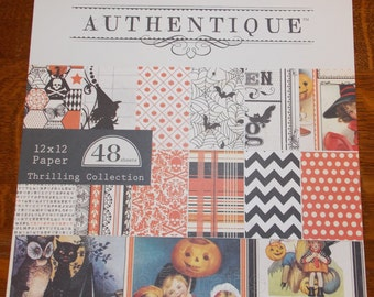 "Authentique Paper Collection ""Thrilling"" 12x12 Pad"