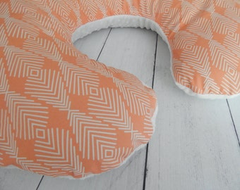 Reversible Nursing Pillow Cover With One Side In By
