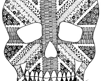 Jolly Jack Tar Skull Print