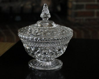 Vintage Lead Crystal Candy Dish FREE SHIPPING