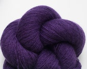 Lace Weight Recycled Cashmere Yarn, Purple Cashmere Lace Weight Recycled Yarn, 459 Yards Available