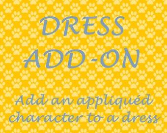 Dress Add-On, Add an Appliquéd Character to a Dress