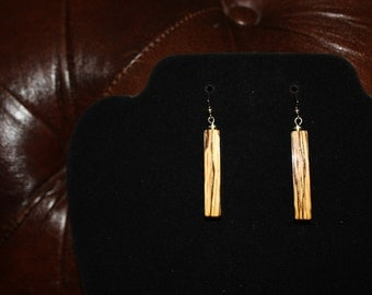 Spalted Oak Earrings