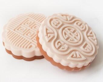Soap Bar - Coffee Bean Soap - Gift for Her - Girlfriend Stocking Stuffer Soap - Christmas Gift -  Asian Soap - Vegan Soap - Women Gift