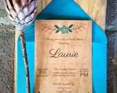 Flowerwood Bridal Shower Invitations