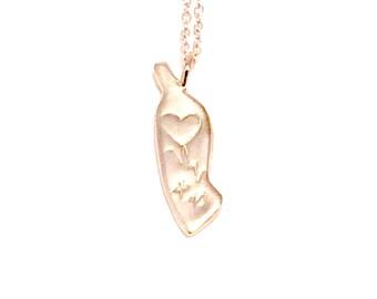 Manhattan charm necklace