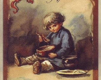 Postcards in the Russian empire / Elisabeth Bohm / Carte postale / Breakfast
