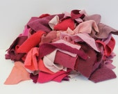 Recycled Cashmere Remnants - Mixed Pinks 16oz