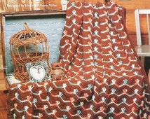 20%OFF The Needlecraft Shop CORAL ISLE By Eleanor Albano Miles - Crochet Afghan Collector's Series Pattern