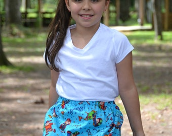 Yipee New Crayons  Skirt    ( 2T, 3T, 4T, 5, 6, 7, 8, 10)