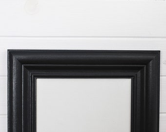 A5 frame - Black - wood - made to order