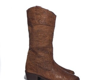 40% Off Sale 6.5 B | Banana Republic Travel & Safari Clothing Co. Brown Leather Mid Calf Boots