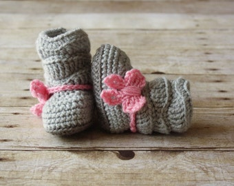 Crochet Baby Boots, Crochet Baby Shoes, Crochet Baby Booties, Baby Slouch Boots, Trendy Baby Boots, Crochet Slouch Boots, Baby Girl Boots