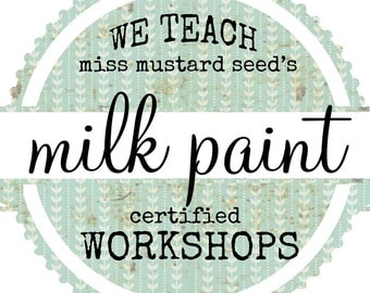 Milk Paint 101 Workshop March 2017 at SimplyHomeSweetHome