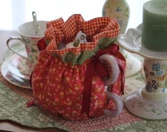 Tea Cozy, Teapot Cosy, Calico