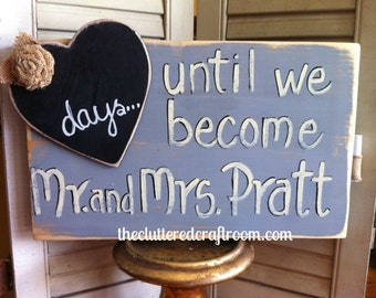 wedding day countdown