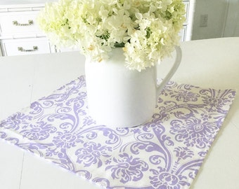 FREE US SHIPPING, Table Topper ,   Table Topper, Table Squares