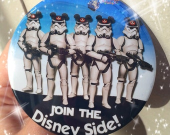 "Disney Stormtrooper 3"" Button"