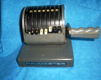 SALE  Vintage Paymaster Check Writing Machine. Was 71.95.