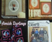 Amish patterns for cross-stitching, quilting and doll making  P. Buckley Moss