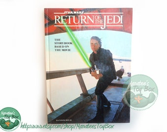Vintage Star Wars Book: Return of the Jedi Storybook 1980s Hardcover