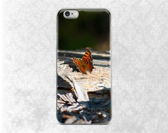 Orange Butterfly iPhone 7 Case, Nature Galaxy S7 Case, Insect iPhone, Butterflies iPhone 6 Case, Monarch Butterfly, Montana iPhone Case