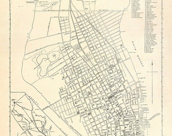 1912 Map of Charleston
