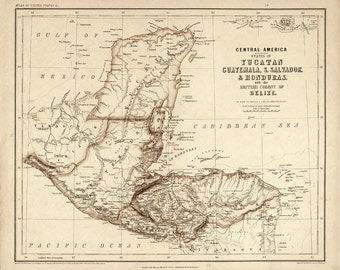 Central America – 1857