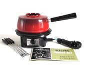 Electric Fondue Pot Set Regal Princess