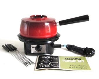 Electric Fondue Pot Set Regal Princess