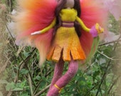 Carmen - Felted angel - needle felted and waldorf inspried